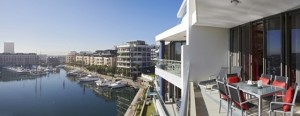 Cape Town Marina Apartments Balcony view
